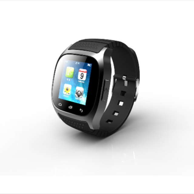 f777d3281c3 Waterproof Smartwatch M26 Bluetooth Smart Watch With LED Alitmeter Music  Player Pedometer For Apple IOS Android Smart Phone DZ