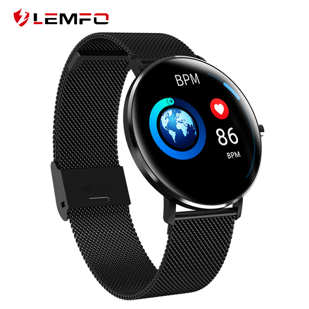 LEMFO L6 Smartwatch IP68 Waterproof Wearable Device Pedometer Heart Rate Monitor Bluetooth Call Reminder Smart Watch