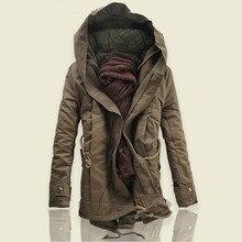 2018 Горячее предложение зимние Мужская Мода Повседневное повышенной плотности пальто Европа и Соединенные Штаты Свободная куртка с капюшоном для девочек S-6XL