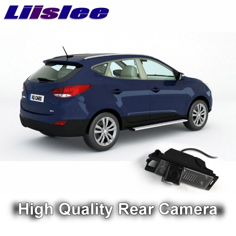 Car Camera For Hyundai ix35 ix 35 Tucson MK2 2009~2016 LiisLee High Quality Rear View Back Up Camera For Fans Use  RCA