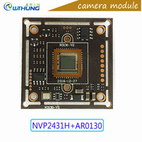 AHD Camera Module 1 3 Aptina CMOS AR0130 Sensor NVP2431 Board IR Cut Lens Wire Support