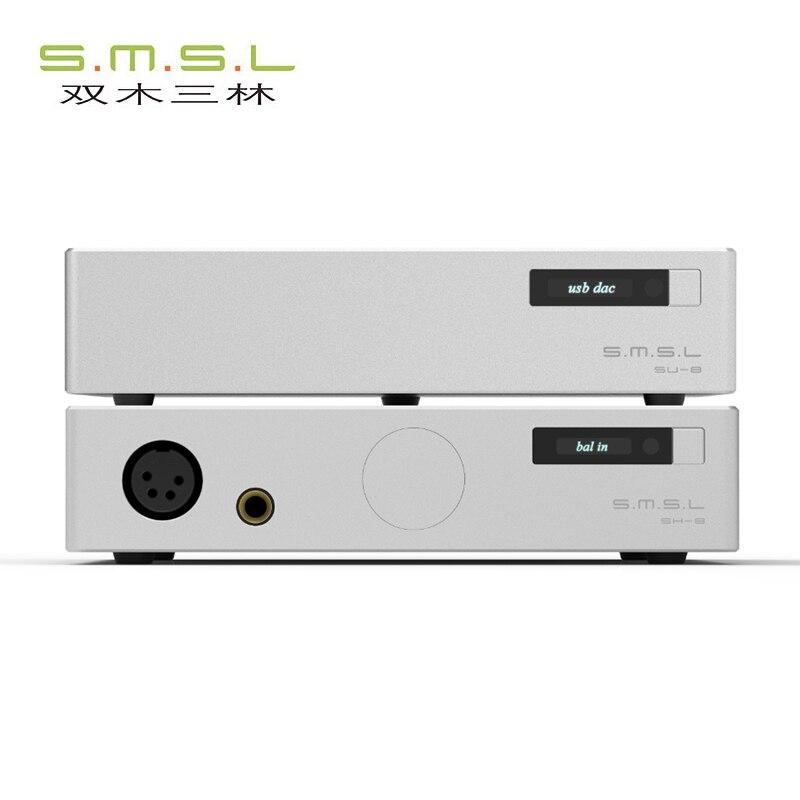 SMSL 88 Suit High end Decoder Headphone Amplifier suit include SH 8 Headphone Amplifier and SU
