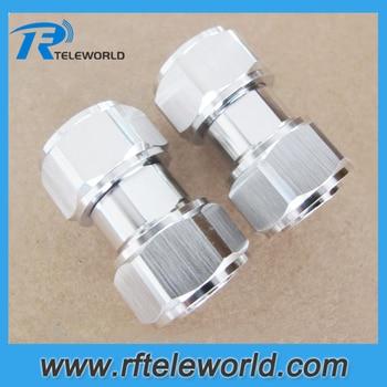10/pc lot 4.3-10 Mini DIN male to 4.3-10 Mini DIN male  Low PIM Adapter