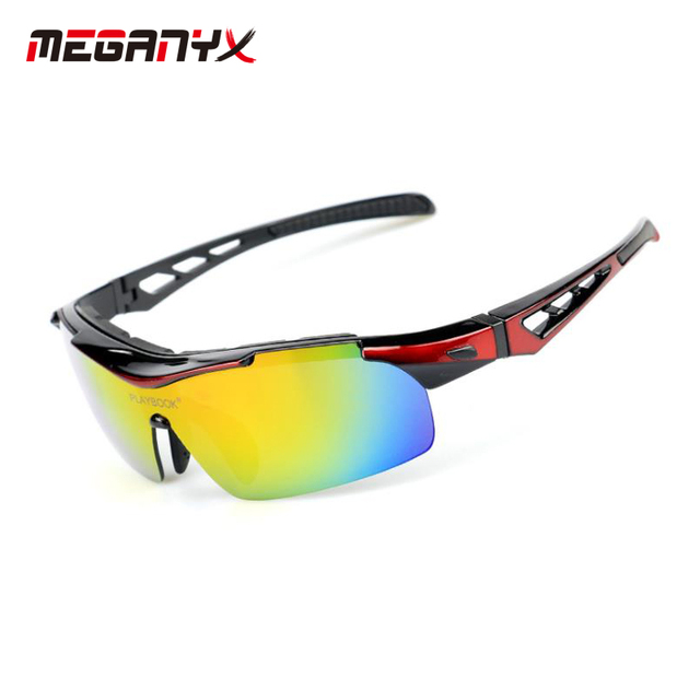 8f177f03d6d MEGANYX 5 lens changes UV400 Bicycle Cycling glasses Men Women Sport Road  Bike Cycling Eyewear Gafas ciclismo Cycling Sunglasses
