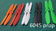 Wholesale 100 pairs 6045 ABS propellers 6*4.5 inch 2 blades(CW/CCW) for DIY mini race drones QAV250/ZMR250/250 pro quadcopter
