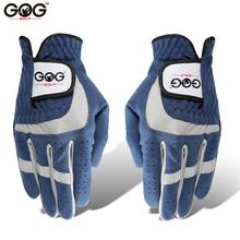 GOG Golf rękawice dla mężczyzn kobiet oddychająca miękka tkanina Mikrofibra Sport rękawica lewo prawa ręka niebieski mężczyźni trzymać 1 szt para 2 3 4 5 r tanie tanio D1ST001 Tkaniny