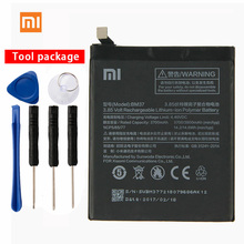Original Xiaomi BM37 Mi 5s Plus Phone battery For Xiaomi Mi 5s Plus 3800mAh Lithium Polymer mi 5s plus 64gb grey