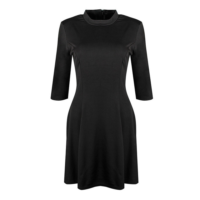 2018 Sexy Off Shoulder Summer Women Dress Female Womens Holiday O Collar Party Ladies Casual Dress Half Sleeve Dress Party Dress 1