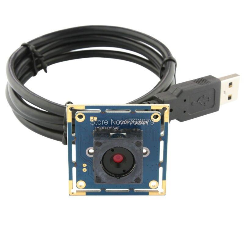 2.0Megapixel MJPEG 30fps 1920*1080, MJPEG 60 fps 1280X720 60 degree autofocus lens OV2710 CMOS CCTV security usb camera board