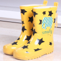 Fashion new Girls boots children shoes rainboots cartoon cat rainboots fashion Rain Boots For Girls Rubber Babys Shoes