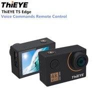ThiEYE T5 Edge Action Camera 14MP Native 4K WiFi 2 inch TFT LCD Screen 1080P Sports Voice Commands Remote Control Ambarella A12