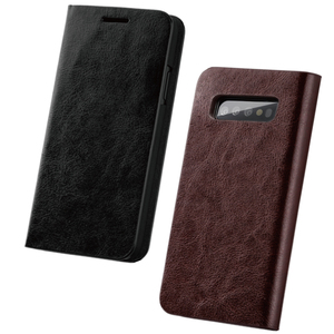 Image 5 - Musubo Business Luxury Case For Samsung Galaxy S20 S10 S10+ S10e Genuine Leather Flip Cases Cover for S9 Plus Funda Coque Capa