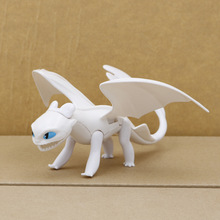 Light Fury Toothless 923cm Dragon Action figure Toys For Childrens Birthday Gifts