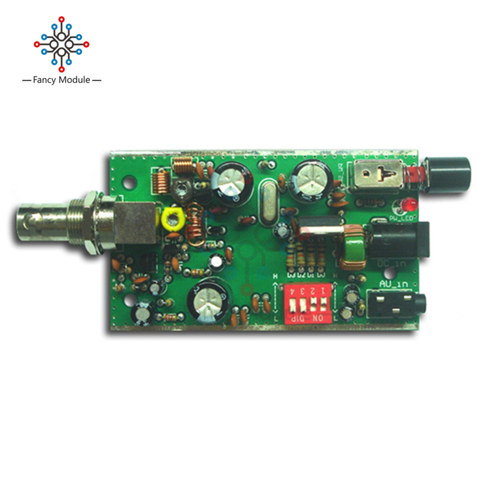 Bh1417f Fm Radio Transmitter Module 5v 12v Pll Stereo Digital Opamp Vhf Circuit Diagram Station Diy In Instrument Parts Accessories From Tools On Alibaba