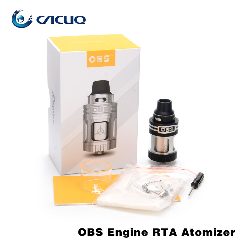 цена  100% Original OBS Engine RTA Tank with 5.2ml Capacity Side Filling Temperature Control Engine Rebuildable Atomizer for RX200 mod  онлайн в 2017 году
