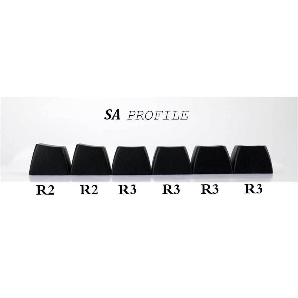 MP SA Profile pbt Keycap 120 Keys Miami Etched Coloring Fonts Keycaps PBT  Radium Valture Keycap for Mechanical Keyboard