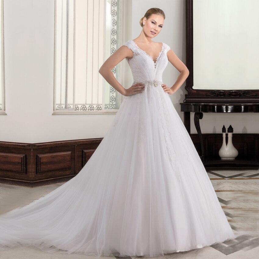 Vestido De Casamento Lindo Frisada Lace Branco Boho Chique