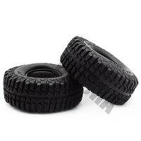 "4PCS 100MM 1.9"" Rubber Tyre / Wheel Tires for 1:10 RC Rock Crawler Axial SCX10 90046 90047 AXI03007 Tamiya CC01 D90 D110 TF2 3"