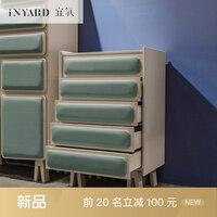 InYard Modern Cabinet Northern Europe Multi Functional Collection Cabinet Bedside Cabinet Bookcase Designer Furniture