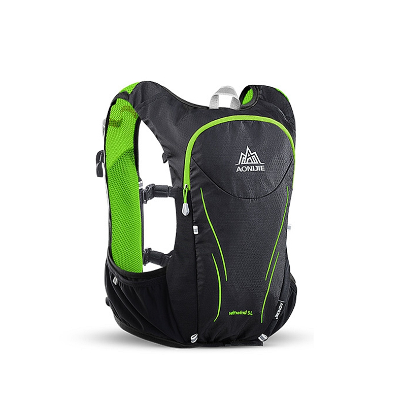 AONIJIE 5L Outdoor Sports Backpack Women Men Marathon Hydration Vest Pack For Exchange Cycling Hiking Water Bag цены