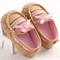 Cute Butteyfly-knot Baby Girls Princess Shoes Infant Kids Soft Soles First Walkers Toddler Girl Dress Shoes Mary Jane Doug Shoes