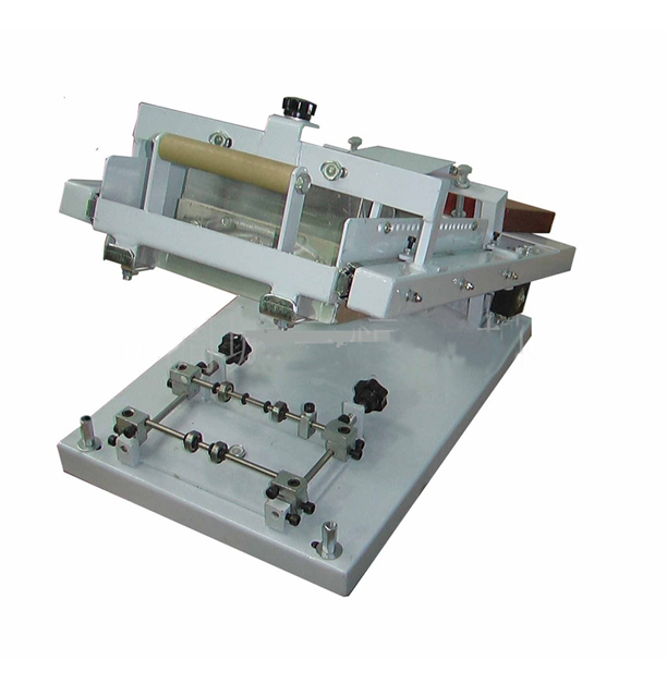 Small Perfume Bottle Silk Screen Printing Machine For Single Color