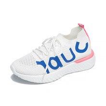 afd2efdd5 Tenis Feminino 2018 Novas Mulheres Malha Respirável Sapatos de Desporto Das Mulheres  Tênis Sapatos Femininos Estabilidade