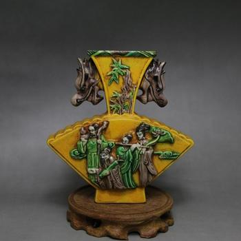 Rare Chinese SongDynasty  porcelain vase,Carving bottle,hand painting crafts,Decorations,collection & adornment,Free shipping