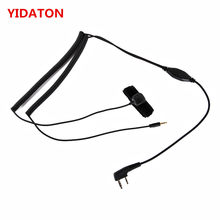 Vimoto V3 V6 V8 V1098a V5s Bluetooth Helmet Headset Special Connecting Cable for Kenwood Baofeng UV-5R UV-82 GT-3 Two Way Radio(China)