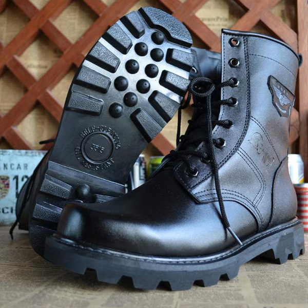 Martin мотоботы Air force 1 мужские черные Ретро армейские ботинки пряжки ремня панк кожа Армейские Сапоги botas militar