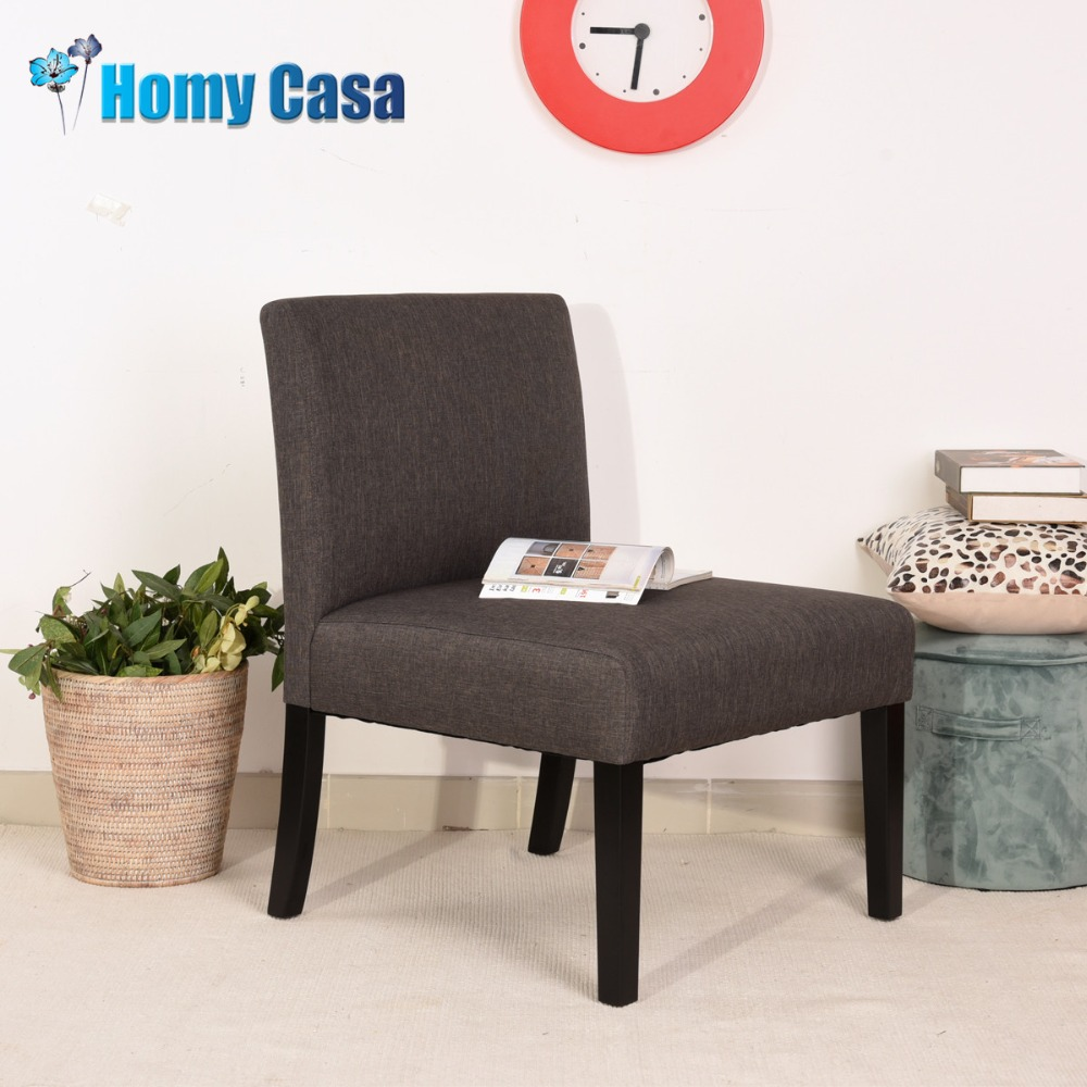 HOMY CASA Accent chair fabric sofa with legs couches for furniture living room set china free shipping