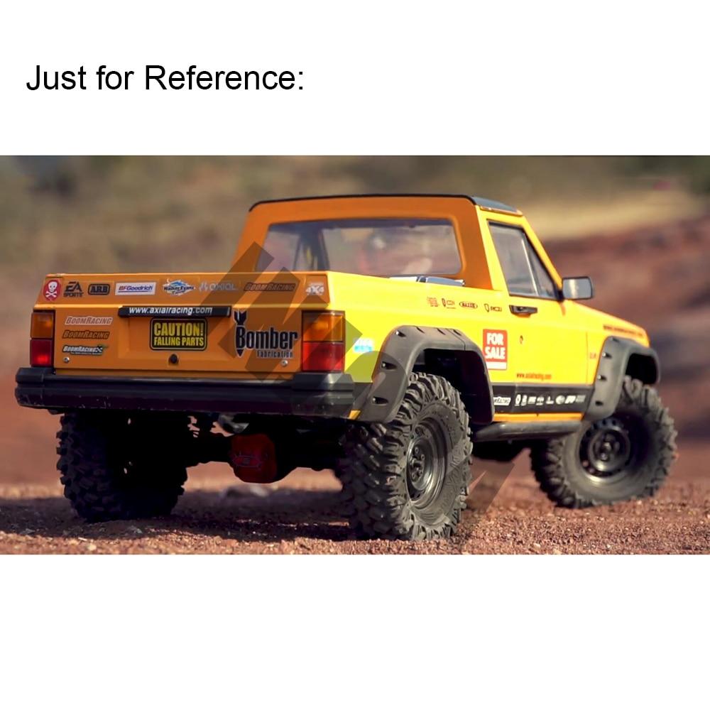 INJORA Unpainted 313mm Wheelbase Cherokee Pickup Truck Car Shell Kit for 1//10 RC Crawler Axial SCX10 /& SCX10 II 90046 90047 Orange