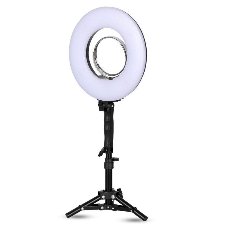 10 Inch 24W 5500K 120 LED Photographic Lighting Dimmable Camera/Photo/Phone/Studio Photography Ring Light Lamp&Tripod Stand