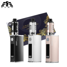 цена на Original Mini 80w kit electronic cigarette kit LED 2200mah battery liquid e cigarettes vape pen vaporizer box mod hookah kit