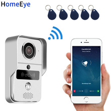 HomeEye Wireless Video Intercom IP Wifi Door Phone Smart Doorbell Waterproof Support Motion Detection PIR Alarm+RFID Card +POE все цены