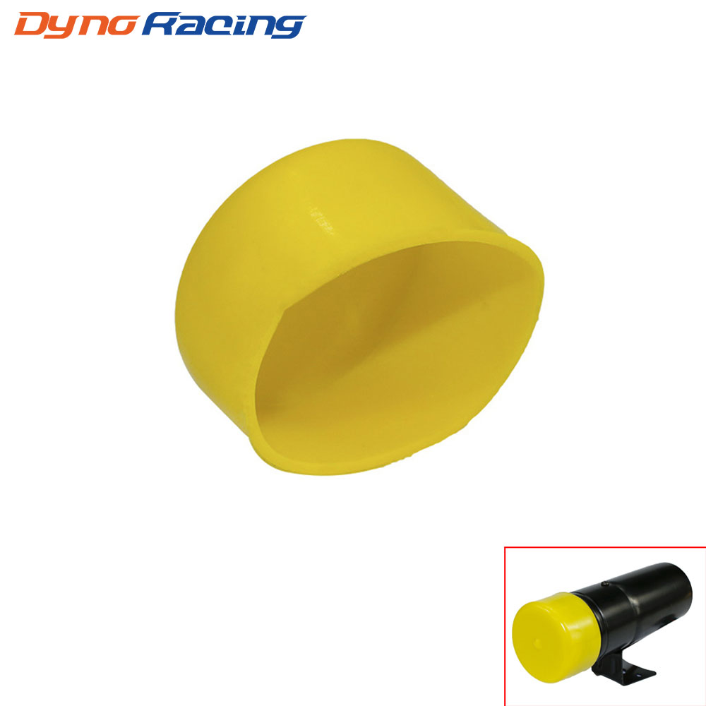yellow warning shift light and digital tach cover tachometer cap lens  covers car meter yc100952