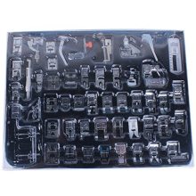 CAMMITEVER 52pcs Domestic Sewing Machine Braiding Blind Stitch Darning Presser Foot Feet Kit Set For Brother Singer Janome панас к метрополитен нью йорк