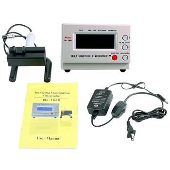 No.1000 timegrapher relógio mecânico cronometrando tester multifunções máquina cronometrando MTG-1000