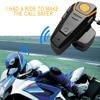 2017 BT S2 Waterproof Bluetooth 3 1 Motorcycle Helmet Earphones Hands Free Stereo Motorbike Intercom Headset