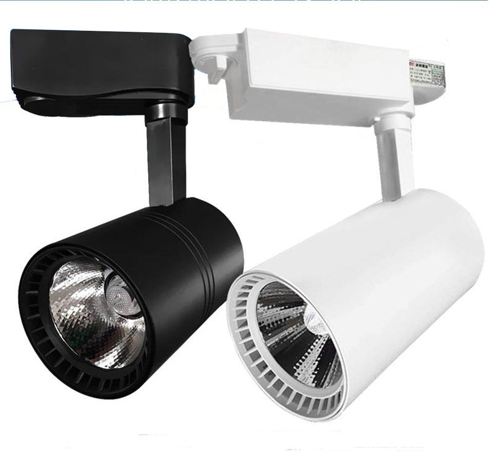 Modern led track light lamp 5w 7w 12w 20w 30w clothing for Modern led track lighting