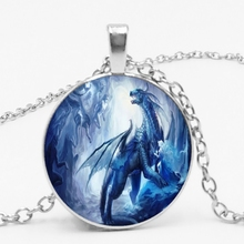 LETS SLIM Western Dragon Hungry Pendant Necklace Jewelry Send A Friends Gift Photo Private Order