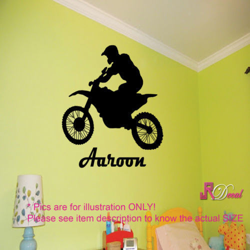 FOOTBALL Soccer Player Action Custom Wall Art Sticker Decal Mural ...