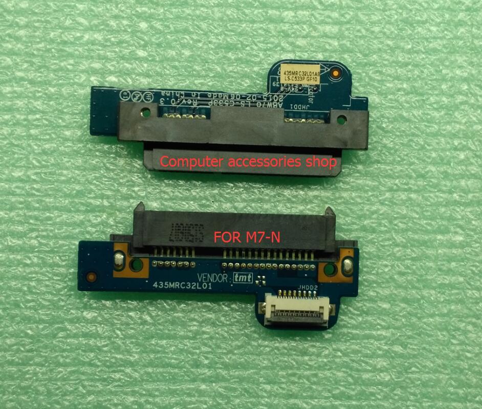 NEW Original HDD Hard Drive Connector Board For HP ENVY M7-N M7-N101DX M7-N-01010LX SERIES ABW70 LS-C533P 435MRC32L01