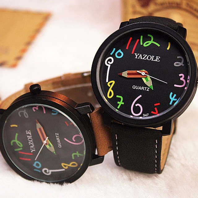 Relojes Hombre 2019 Women Dress Watches Female Clock Men Fashion Casual Watch Un