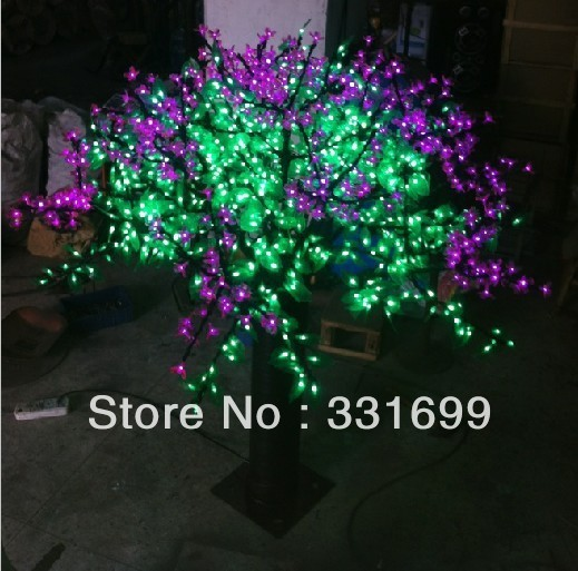 LED CHRISTMAS LIGHTED CHERRY TREES, XMAS TREE LIGHTING HOME COMMERCIAL DECOR, FAIRY PARTY FESTIVAL  HOLIDAY WEDDING DECORATION