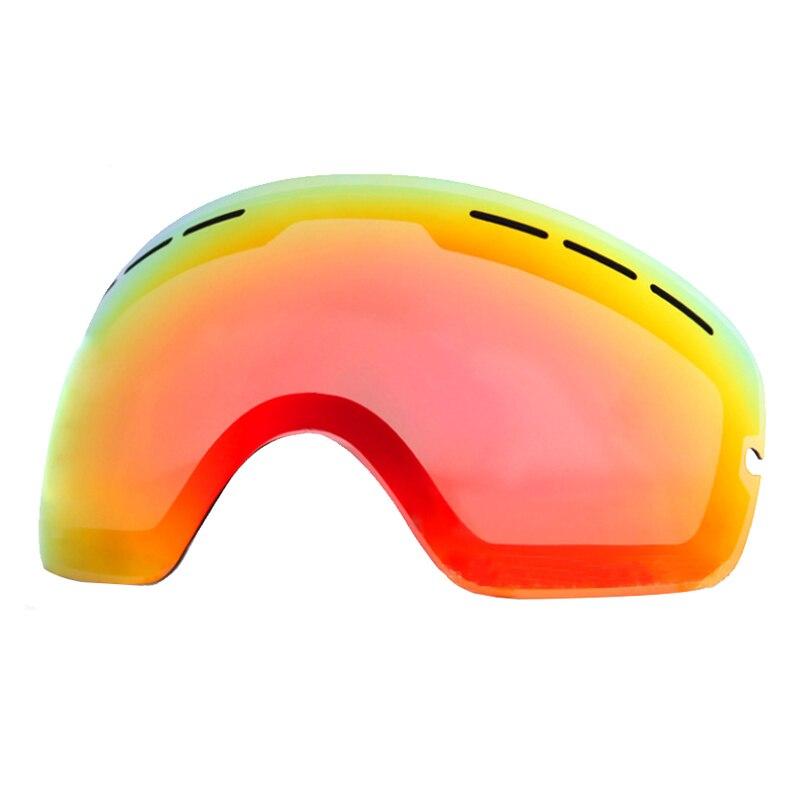 LOCLE лыжные очки, линзы UV400, лыжные очки для сноуборда, линзы, осветляющие линзы для сласветильник, пасмурный свет для аналогичности (только ли...