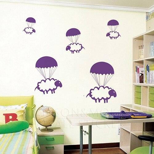 Baby Room Wall Art popular baby room wall sticker sheep-buy cheap baby room wall