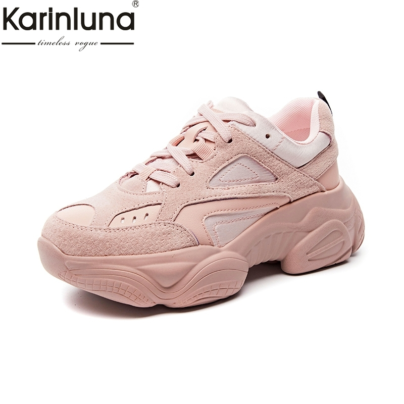 New Arrivals 2019 High Quality Lace Up Flats Sneakers Woman Shoes Women Shoes Woman Leisure Fashion
