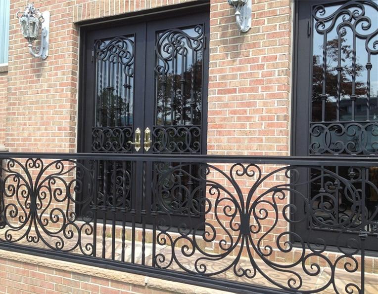 Wholesale Wrought Iron Doors Iron Double Doors Iron Doors Iron Front Doors For Sale  Hc3
