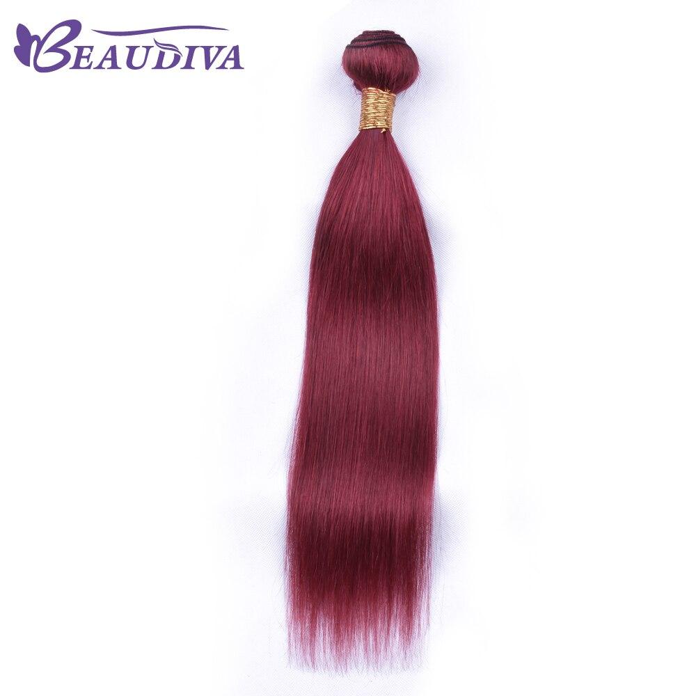 BEAU DIVA Bundles Peruvian Hair Weave Bundles Straight Human Hair Weave 8 Inch -26 inch Remy Hair Extensions Free Shipping